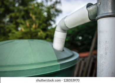 green recovery of rainwater
