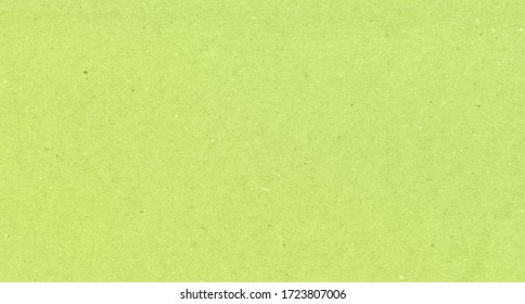 Green recycled paper background and texture.