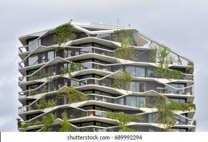 Vertical Forest Buildings Images, Stock Photos & Vectors | Shutterstock