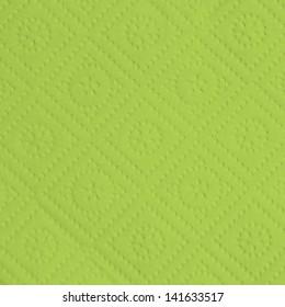 green retro napkin texture