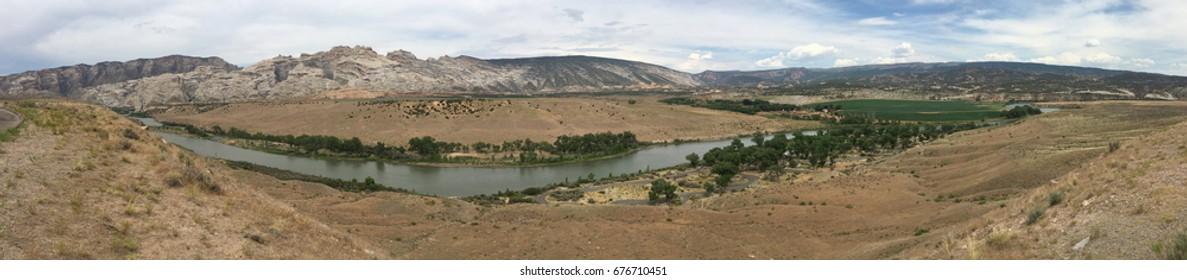 Green River in Dinosaur National Monument, Utah