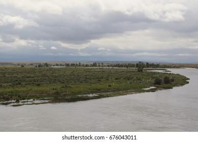 Green River, Seedskadee National Wildlife Refuge, Wyoming