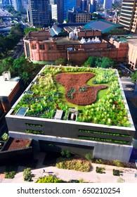 Green Roof in São Paulo, Brazil