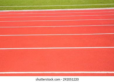 green and running lane