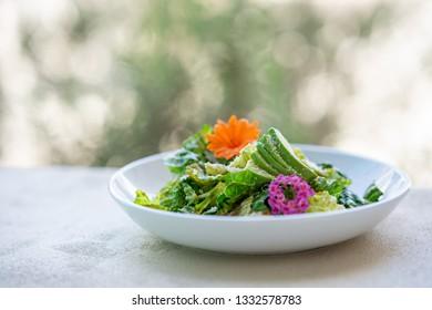 Green Salad outdoors