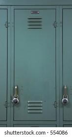 Green School Locker