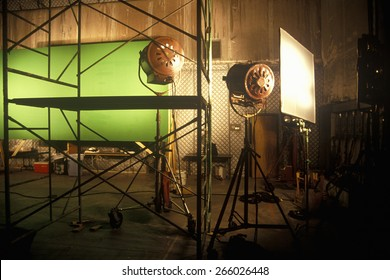 Green screen Scene from set of 'Temptation', feature film, Miami, FL
