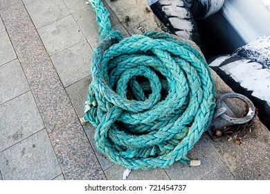 Green Ship rope