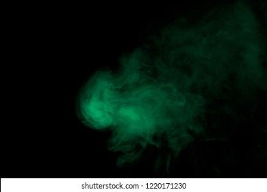Green smoke texture