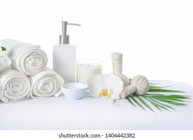 Green spa or wellness background spa background