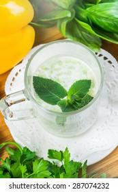 Green Spring Pea Soup