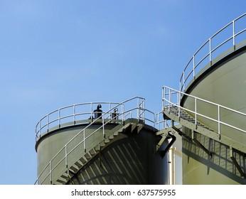 Green storage tank