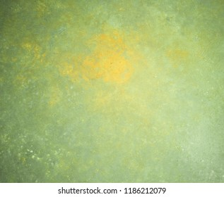 Green surface with scratches. Abstract background and texture for design.
