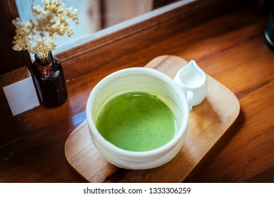 """Green tea, in japan call """"Matcha"""" a healthy drink of japan"""