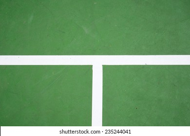 green tennis court surface, sport background