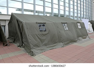 Green Tent Temporary Shelter for Disaster and Refuges