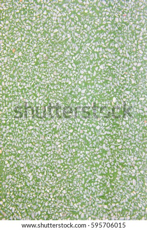 Green Terrazzo Floor Texture Background