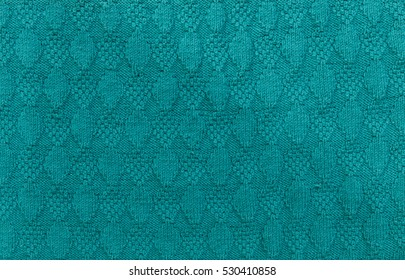 green textured knitted background
