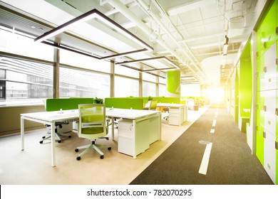Green tone office