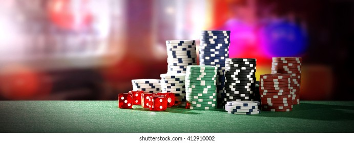 Blue Casino Background Stock Photos Images Photography Shutterstock