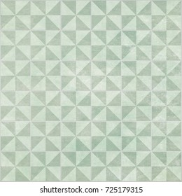 Green Triangle Tiles