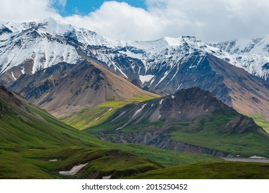 Green Valleys To Snow Capped Mountains