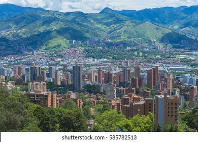 a green view of Medellin, Antioquia, Colombia