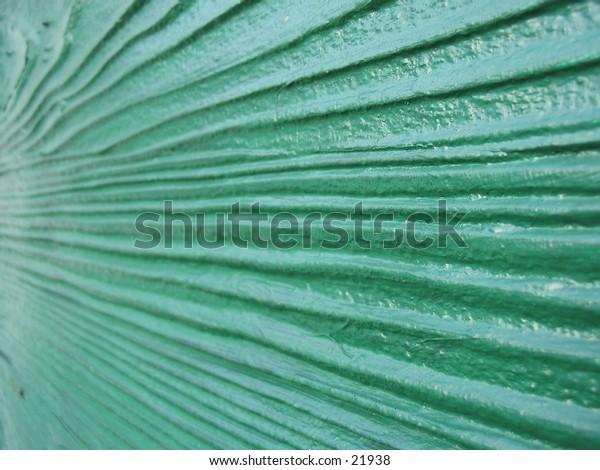 Green wall recedes left