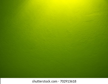Green walls background