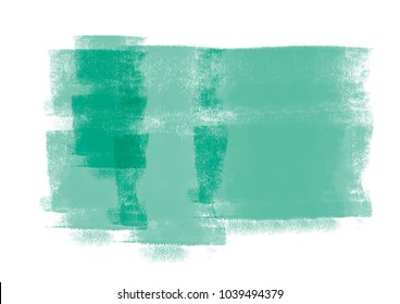 Green water color graphic color brush strokes patches effect background