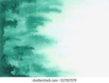 green watercolor texture streaks