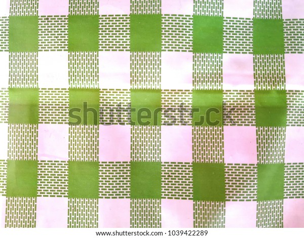 green and white linen tablecloth, green checkered tablecloth tartan