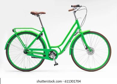 Green Women City Bike