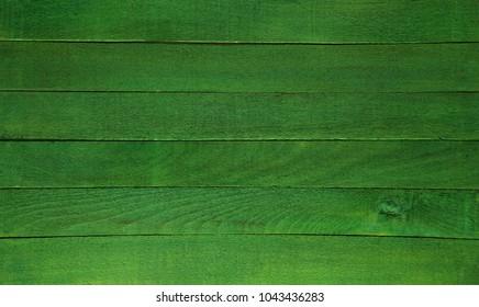 Green wooden background texture