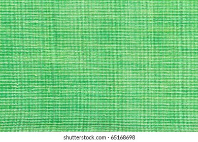 Green Woven Cotton Fabric