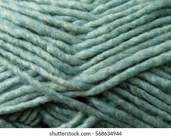 Green yarn background