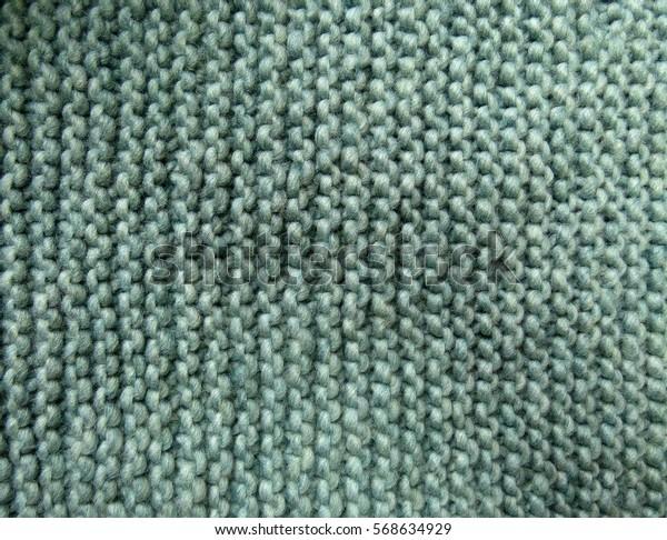 Green yarn background