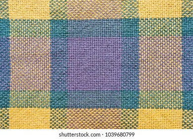 green yellow fabric pattern texture background