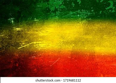 Green, yellow, red texture background,Reggae background