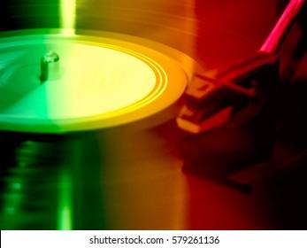 Green, yellow, red texture background,Reggae,music ,Vinyl,Reggae background
