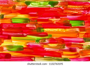 green yellow red watercolor background