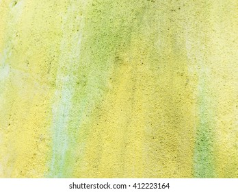 green yellow wall background