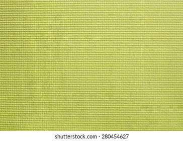 Green yoga mat texture background