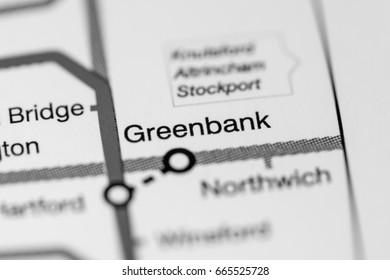 Greenbank Station. Liverpool Metro map.