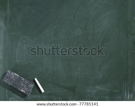 greenboard chalkboard texture eraser chalk traces stock photo edit