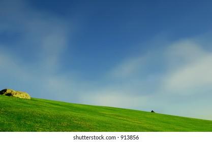 greenfields in Malibu, California