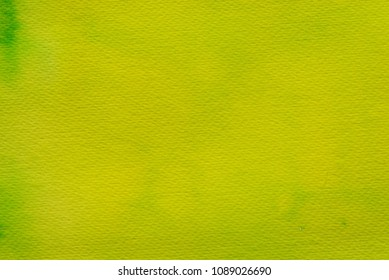 greenish watercolor color painted on paper background texture