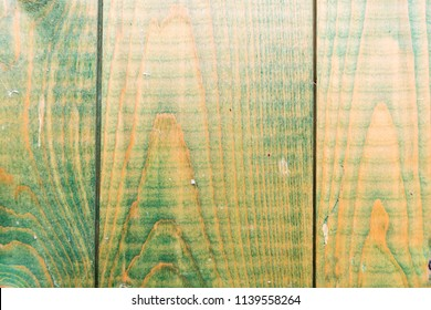Greenish wooden plank background