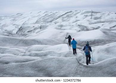 Greenland ice cap adventure travel