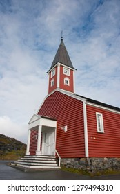 Greenland, Nuuk (or Godthab). Nuuk is the capital of Greenland and the country's largest city with a population of about 15,800. Historic district, Our Saviors' Church. .